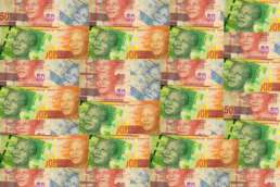 tiled rands colourful ZAR